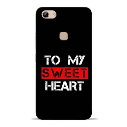 To My Sweet Heart Vivo Y81 Mobile Cover