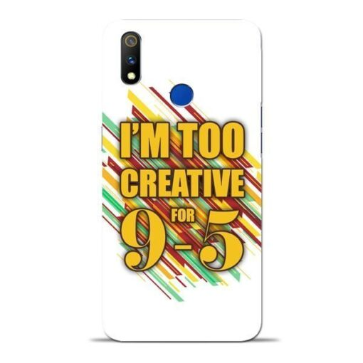 Too Creative Oppo Realme 3 Pro Mobile Cover