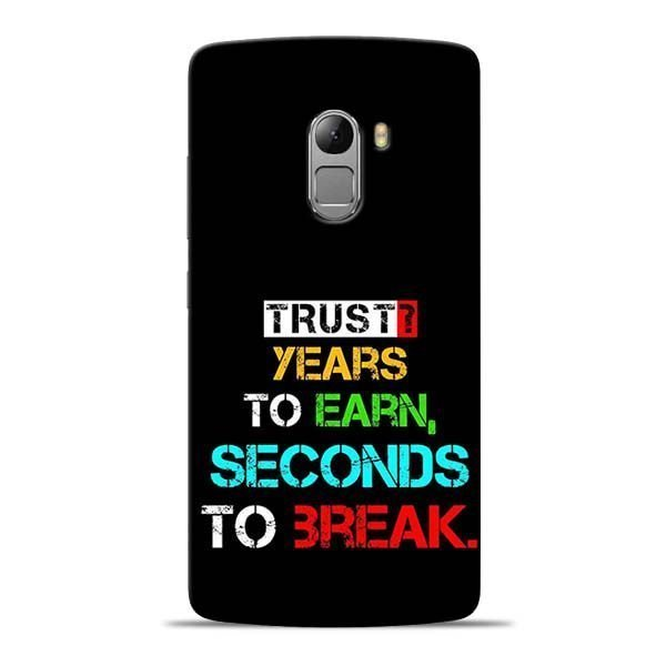 Trust Years To Earn Lenovo Vibe K4 Note Mobile Cover