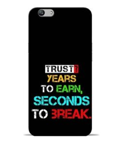 Trust Years To Earn Oppo F1s Mobile Cover