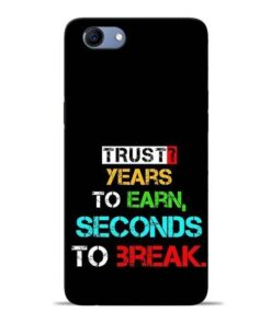 Trust Years To Earn Oppo Realme 1 Mobile Cover