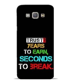 Trust Years To Earn Samsung Galaxy A8 2015 Mobile Cover