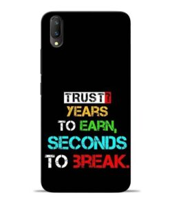 Trust Years To Earn Vivo V11 Pro Mobile Cover