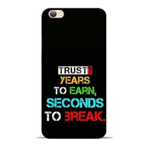 Trust Years To Earn Vivo V5s Mobile Cover