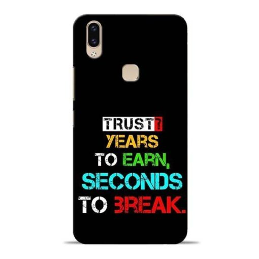 Trust Years To Earn Vivo V9 Mobile Cover