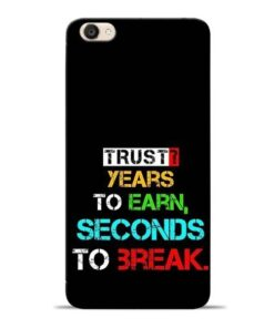 Trust Years To Earn Vivo Y55s Mobile Cover