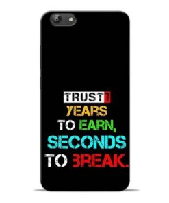Trust Years To Earn Vivo Y69 Mobile Cover