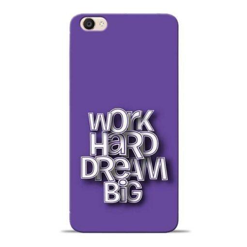 Work Hard Dream Big Vivo Y55s Mobile Cover