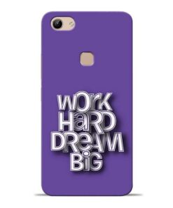 Work Hard Dream Big Vivo Y81 Mobile Cover