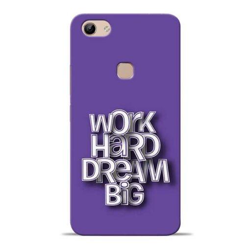 Work Hard Dream Big Vivo Y81 Mobile Cover