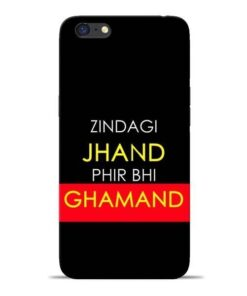 Zindagi Jhand Oppo A71 Mobile Cover