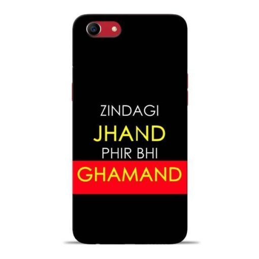 Zindagi Jhand Oppo A83 Mobile Cover