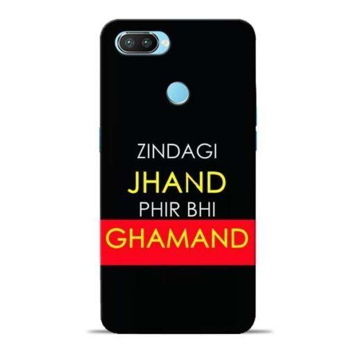 Zindagi Jhand Oppo Realme 2 Pro Mobile Cover