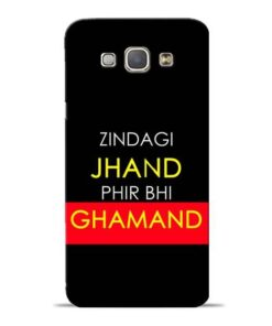 Zindagi Jhand Samsung Galaxy A8 2015 Mobile Cover