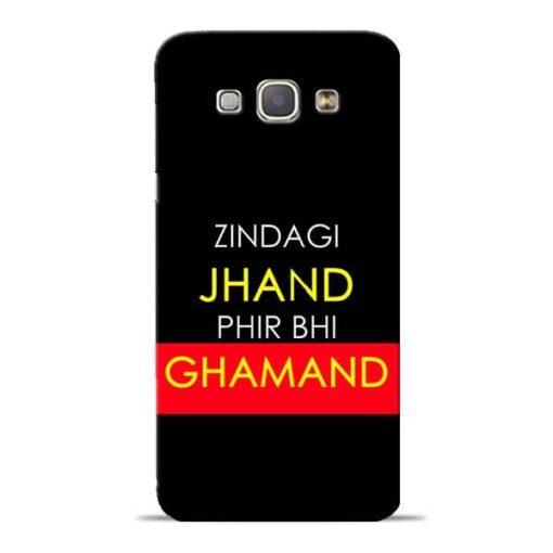 Zindagi Jhand Samsung Galaxy A8 2015 Mobile Cover