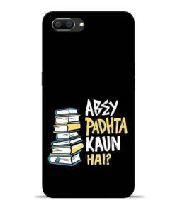 Abey Padhta Koun Oppo Realme C1 Mobile Cover