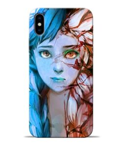 Anna Apple iPhone X Mobile Cover