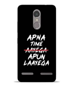 Apna Time Apun Lenovo K6 Power Mobile Cover