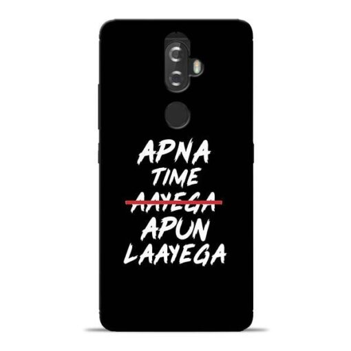 Apna Time Apun Lenovo K8 Plus Mobile Cover
