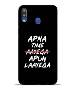 Apna Time Apun Samsung M20 Mobile Cover