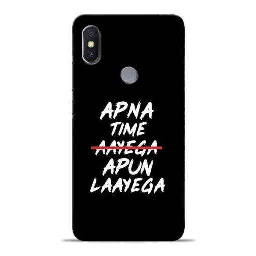 Apna Time Apun Xiaomi Redmi Y2 Mobile Cover
