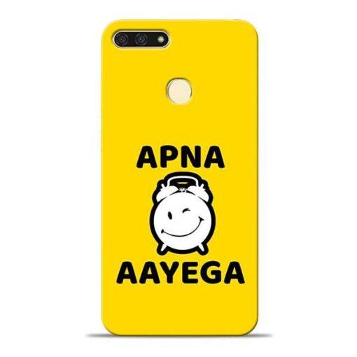 Apna Time Ayega Honor 7A Mobile Cover
