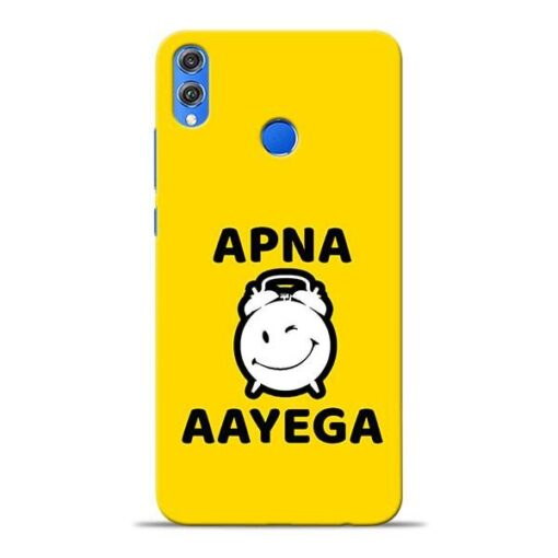 Apna Time Ayega Honor 8X Mobile Cover