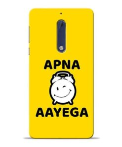 Apna Time Ayega Nokia 5 Mobile Cover