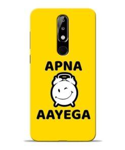 Apna Time Ayega Nokia 5.1 Plus Mobile Cover