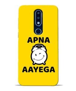 Apna Time Ayega Nokia 6.1 Plus Mobile Cover