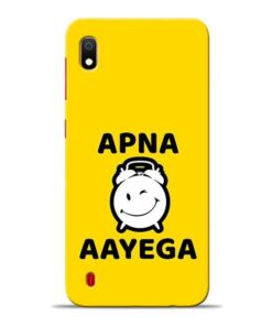 Apna Time Ayega Samsung A10 Mobile Cover