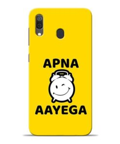 Apna Time Ayega Samsung A30 Mobile Cover