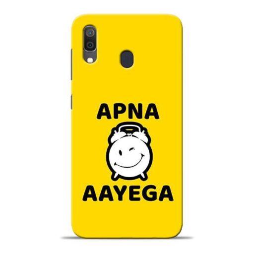 Apna Time Ayega Samsung A30 Mobile Cover