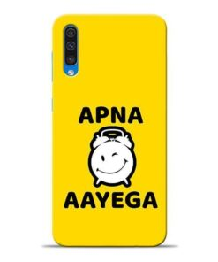 Apna Time Ayega Samsung A50 Mobile Cover