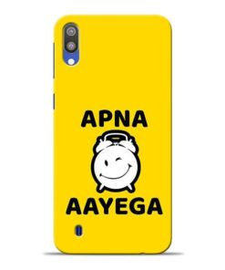 Apna Time Ayega Samsung M10 Mobile Cover