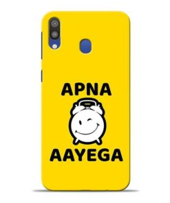 Apna Time Ayega Samsung M20 Mobile Cover
