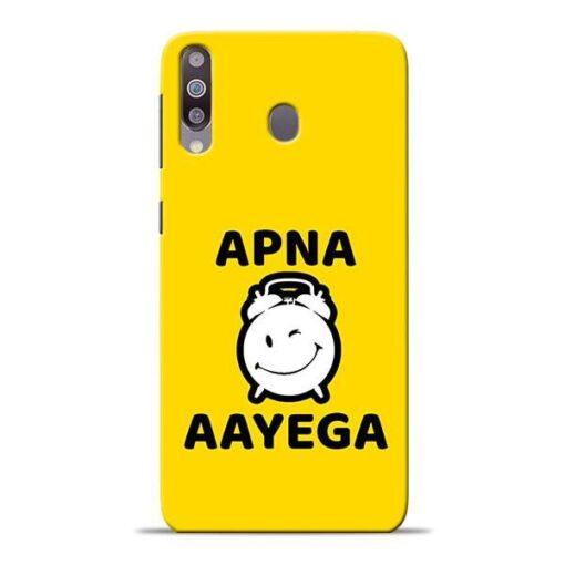 Apna Time Ayega Samsung M30 Mobile Cover