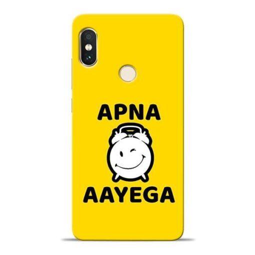 Apna Time Ayega Xiaomi Redmi Note 5 Pro Mobile Cover
