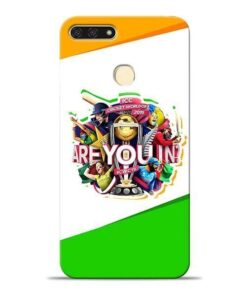 Are you In Honor 7A Mobile Cover