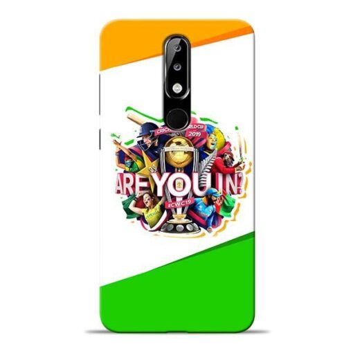 Are you In Nokia 5.1 Plus Mobile Cover