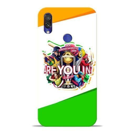 Are you In Xiaomi Redmi Note 7 Pro Mobile Cover
