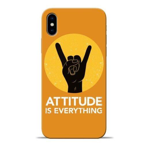 Attitude Apple iPhone X Mobile Cover