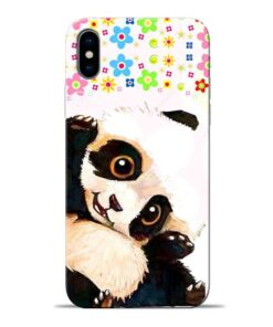 Baby Panda Apple iPhone X Mobile Cover
