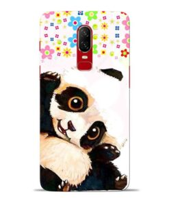 Baby Panda Oneplus 6 Mobile Cover