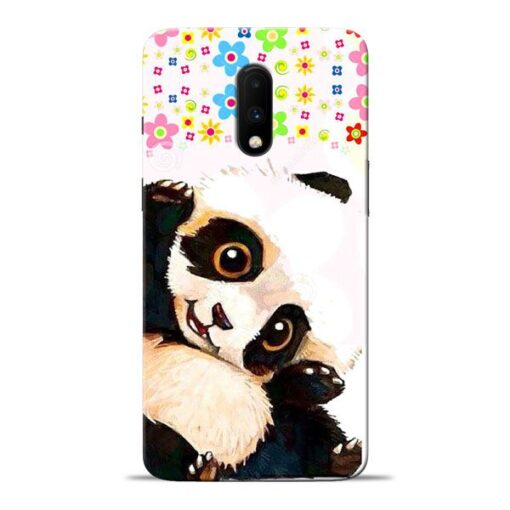 Baby Panda Oneplus 7 Mobile Cover