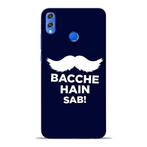 Bacche Hain Sab Honor 8X Mobile Cover