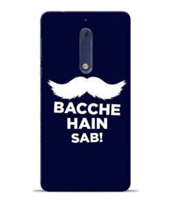 Bacche Hain Sab Nokia 5 Mobile Cover