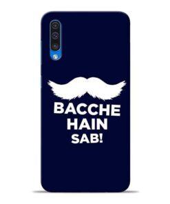 Bacche Hain Sab Samsung A50 Mobile Cover