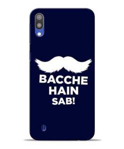 Bacche Hain Sab Samsung M10 Mobile Cover