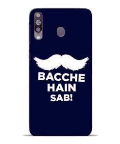 Bacche Hain Sab Samsung M30 Mobile Cover
